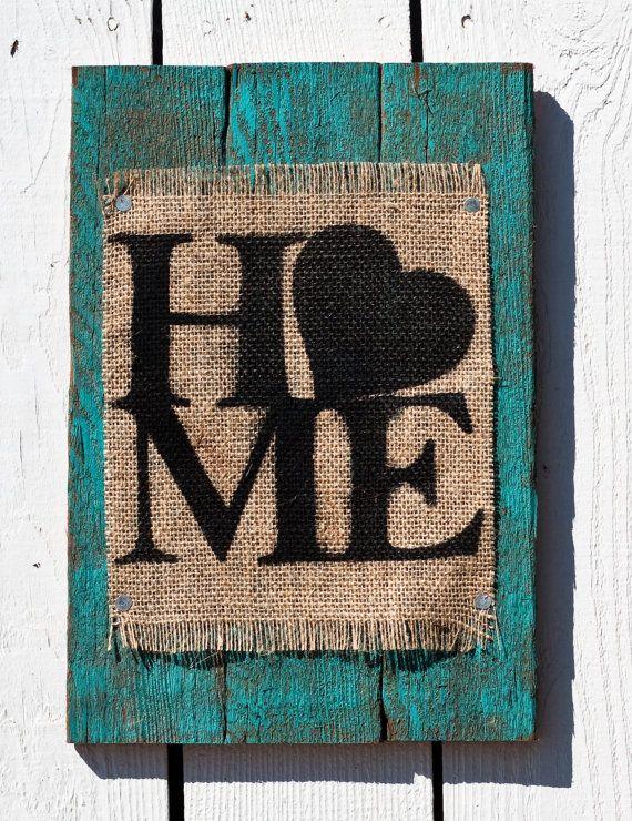Señal verde azulado casa de arpillera rústica de madera                                                                                                                                                                                 Más