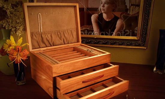 Mother's Day Gift Idea- Jewelry Box