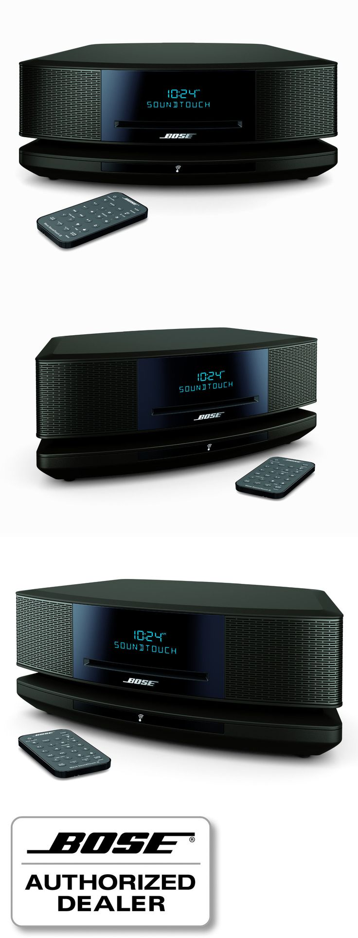 Compact and Shelf Stereos: Bose Wave Soundtouch Music System Iv Bluetooth Wifi Cd Mp3 Am/Fm Espresso Black -> BUY IT NOW ONLY: $599 on eBay!