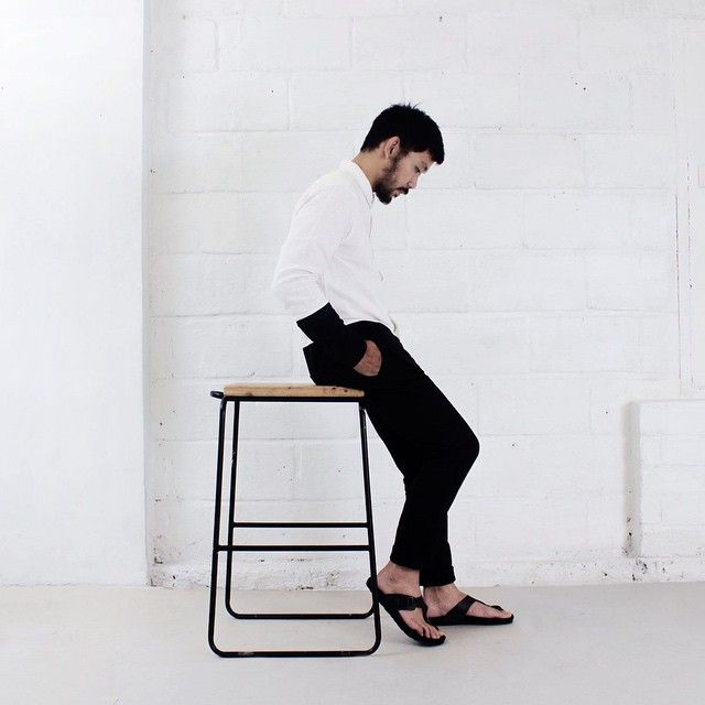 Simplify everything.  On frame: City Noire #hijacksandals #noireproject