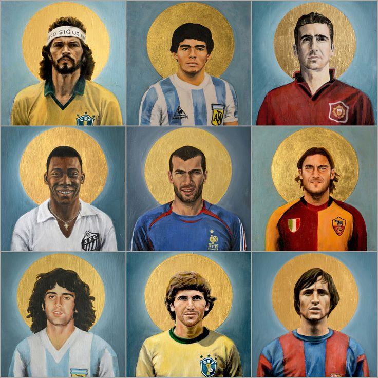 By David #Diehl #Football #Art #Zidane #Totti #Pelé #Diego #Maradona #Cantona #History #MU #Argentine
