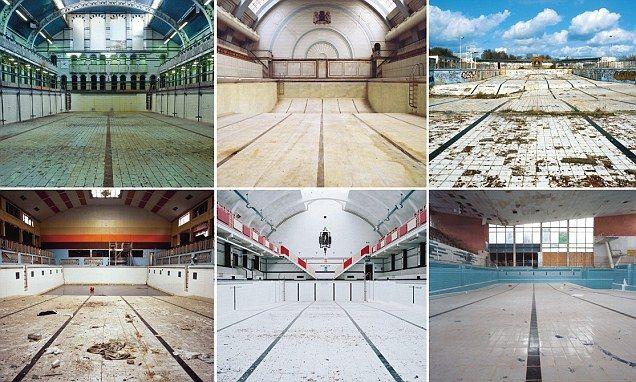 Eerie images of Britain's forgotten derelict pools