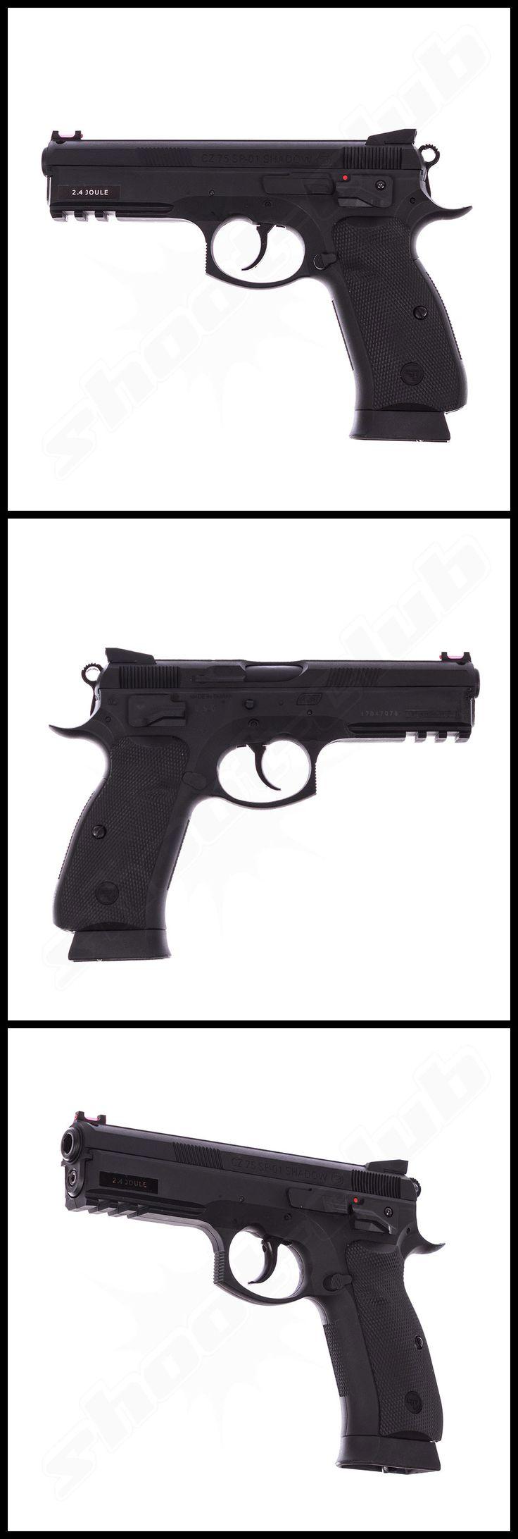 CZ SP-01 Shadow NBB - Co² Pistole im Kaliber 4,5 mm BB    - weitere Informationen und Produkte findet Ihr auf www.shoot-club.de -    #shootclub #pistol #pistole #guns