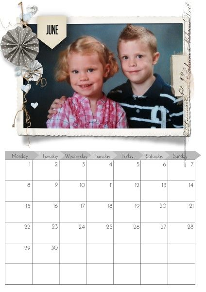 June 2014 - This's from the fabulous Calendar 2014 Bundle by Natali Designs at SBG.