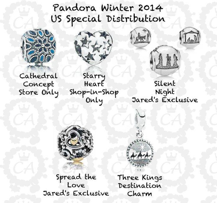 Pandora Winter Christmas Collection 2014 Preview Us