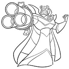 The Emperor Zurg Coloring Pages