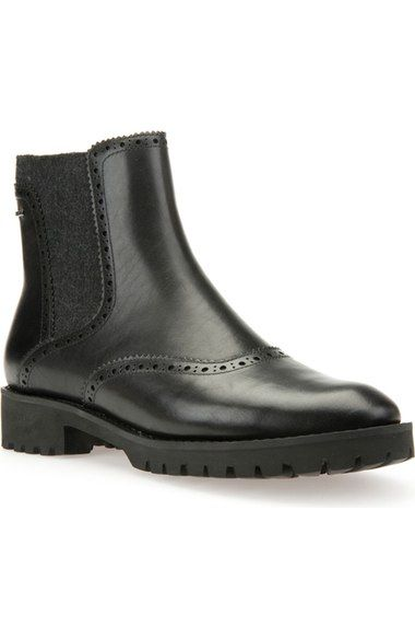Geox 'Ashlenn' Amphibiox® Waterproof Chelsea Boot (Women)