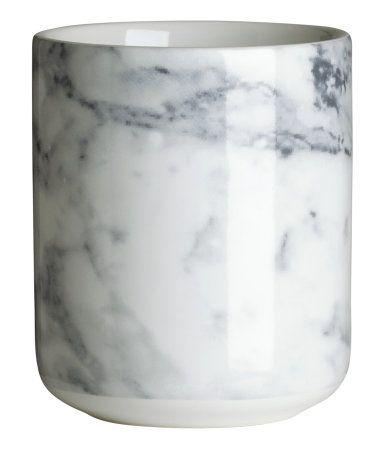 ceramic mug $6