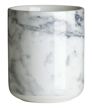 Faux marble mug (would like to see a REAL marble mug sometime)