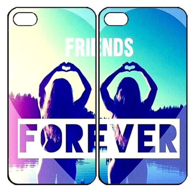 Best Friends ForeverSamsung Galaxy S3 S4 S5 Note 3 4 , iPhone 4 4S 5 5s 5c 6 Plus , iPod Touch 4 5 , HTC One M7 M8 ,LG G2 G3 Couple Case