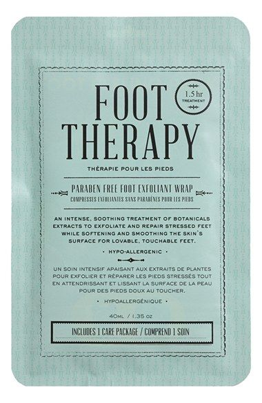 Free shipping and returns on KOCOSTAR Foot Therapy Foot Exfoliation Wrap at Nordstrom.com. Kocostar Foot Therapy is a foot exfoliant that takes care of hard calluses and tough skin while 33 botanical essences soothe the exfoliated skin and hydrate the renewed skin.<br><br>How to use: Cut the pack in the middle, following the dotted line. Slip in your feet and secure the pack with adhesive tape. It won't leak and you'll be able to walk around as you please. The treatment takes around 90…