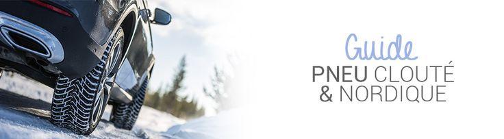 PNEU CLOUTÉ & NORDIQUE : GUIDE D'ACHAT #pneus #cloutés #hiver