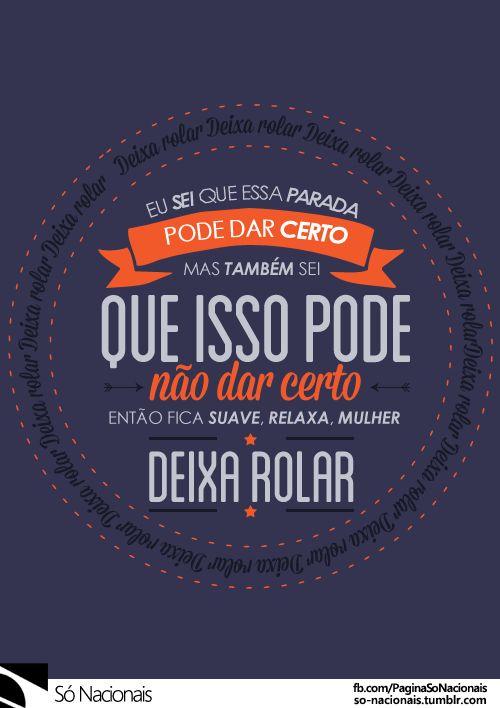 "Deixa Rolar - Projota •  "" Facebook [x] "" •  "" Twitter [x] "" •  "" Instagram…"