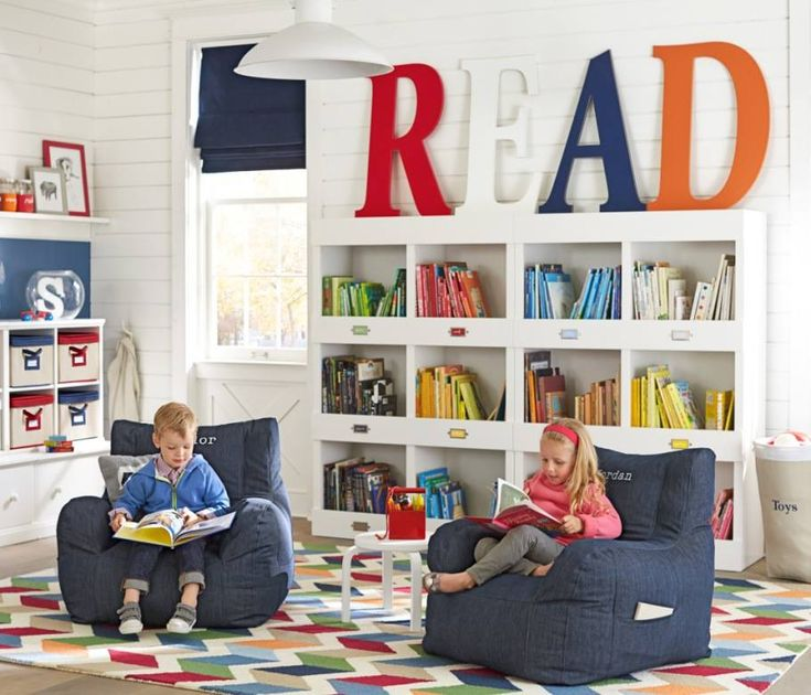 Pottery Barn Kids Playroom: Cameron Library Cubby Bookcase On Pinterest
