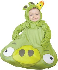 baby boy's costume: angry birds, king pig-0-9 months http://www.shopprice.com.au/angry+birds+costume
