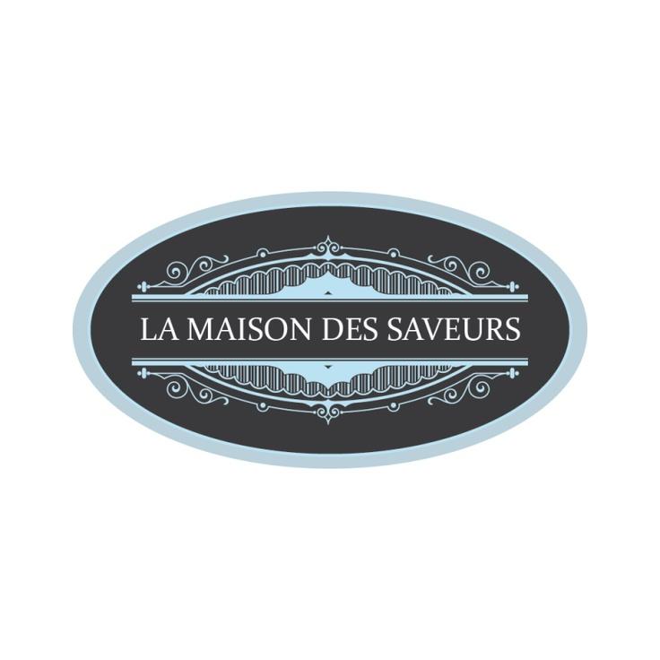 proposition logo la maison des saveurs macarons et cuisine de luxe brandsupply fr