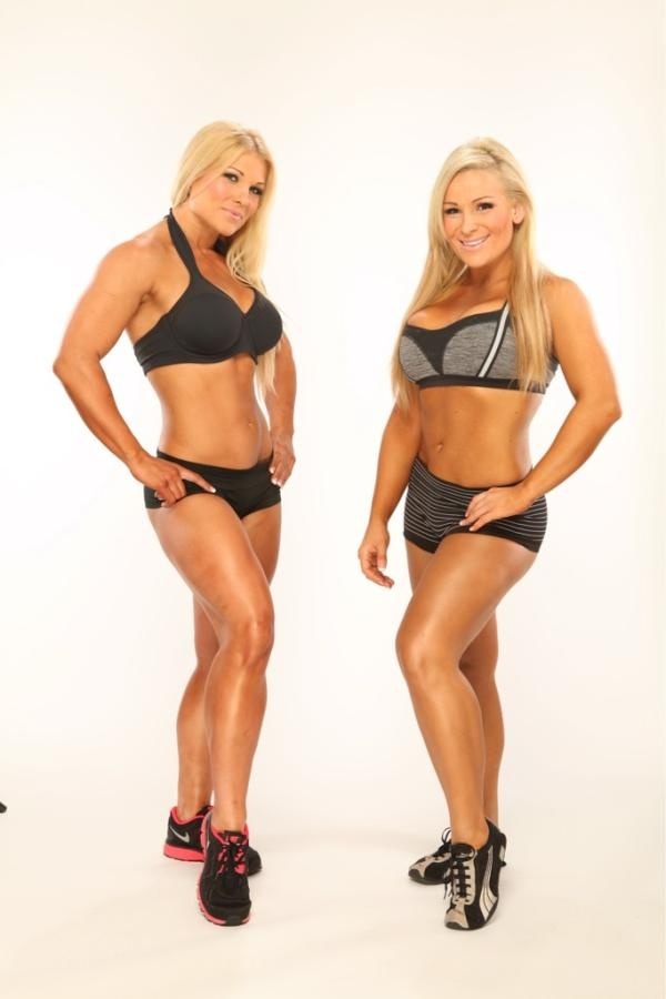 Beth Phoenix & Natalie Neidhart. Way hotter than any stick-thin supermodel, in my book.
