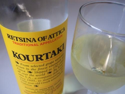 Retsina wine, Kourtaki