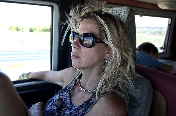 Mari on the road, again