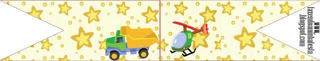 toys Mini Kit birthday printables