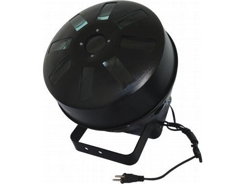 Multi Raio de Sol Aquarius LED RGBW DMX Áudio-Rítmico Bivolt: 9 lentes cristal (exclusiva lente central), 12 LEDs, 5 canais DMX, automático/demonstração, sensor, 52 programas, strobo, alça de fixação.  Comprar em http://www.aririu.com.br/multi-raio-de-sol-aquarius-led-rgbw-dmx-audioritmico-bivolt_9xJM