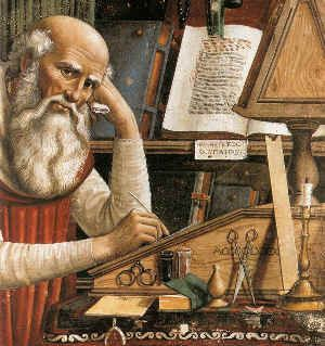 Domenico Ghirlandaio Portrait of St Jerome in his Study from 1480