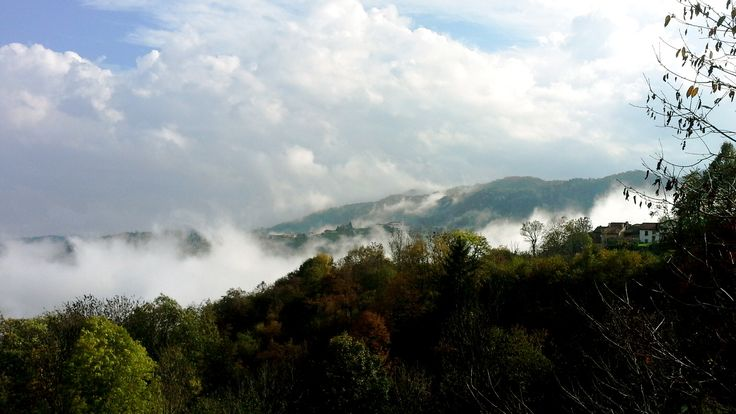 L'autunno visto da Castelvecchio