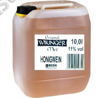 Original Wikinger Met 10 Ltr Honigwein 11% vol. Kanister