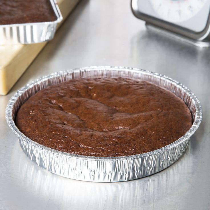 9 foil cake pan 25pack gooey chocolate chip cookies