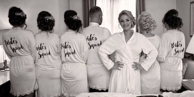 Congratulation to Dawn & Luke on their wedding day. This is how you do bridal party style !