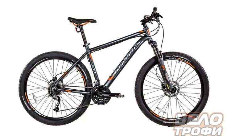 Велосипед Comanche Hurricane 27.5 (Серый)