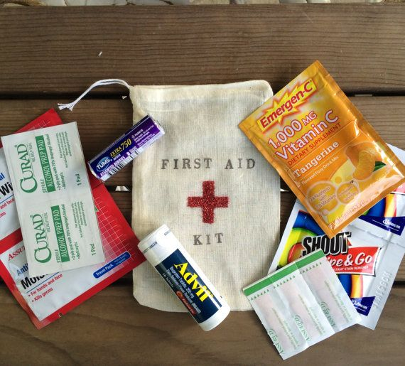 Hangover kit first aid kit wedding welcome bag by EverlongEvents