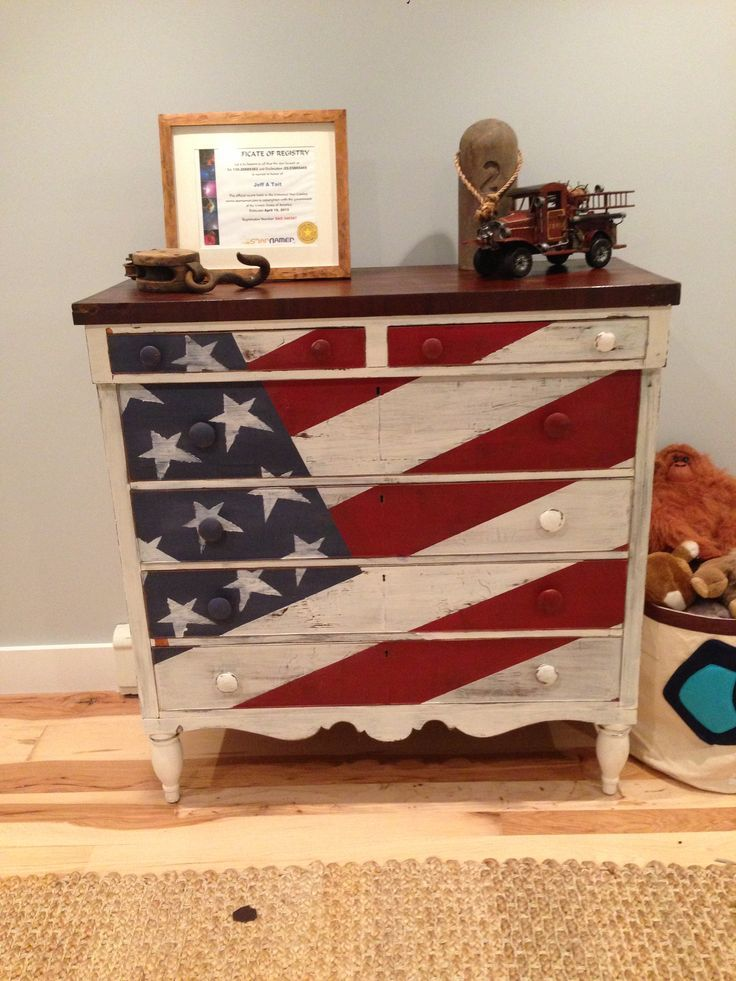 us flag furniture - Google Search