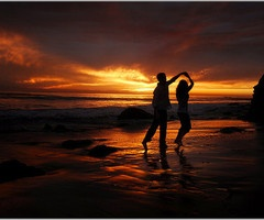: Dancing, Favorite Places, Sunsets, Beautiful, Romantic, Beach Sunset, Dance, Photography