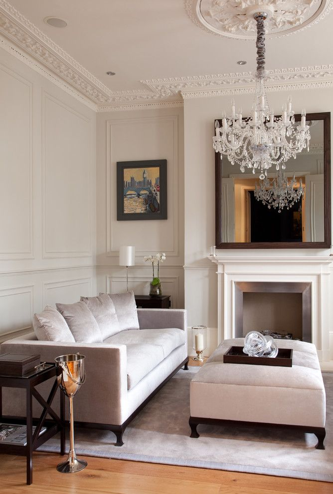 Panelling And Cornice Victorian Living RoomMolding