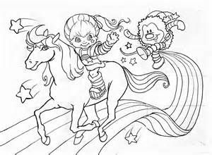 1765 best colorings images on Pinterest Coloring Rainbow brite