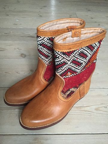 Handmade kelim boots by LOT ONE STUDIO * we ship worldwide
