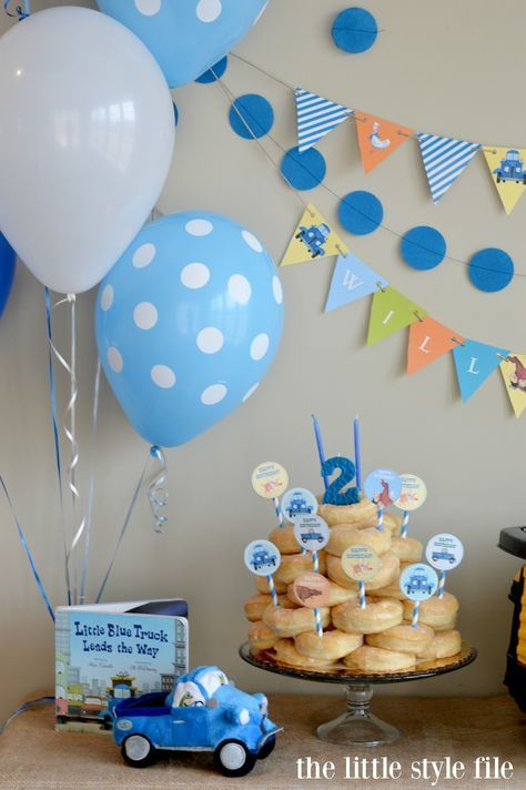 The Little Blue Truck Birthday Party                                                                                                                                                                                 More