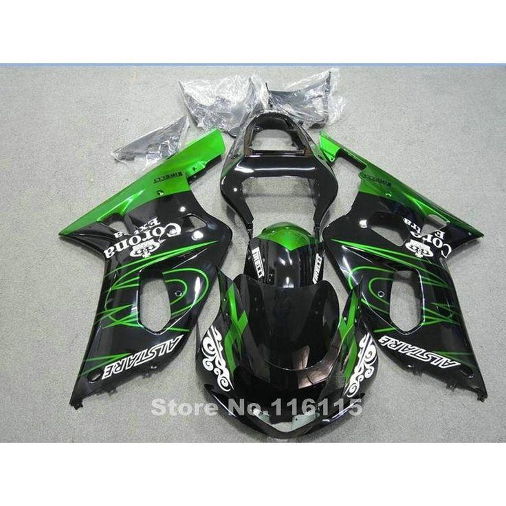 330.28$  Watch now  - fairing kit for SUZUKI GSXR600 GSXR750 K1 2001 2002 2003 GSXR 600 750 01 02 03 green black Corona motobike fairings set X518