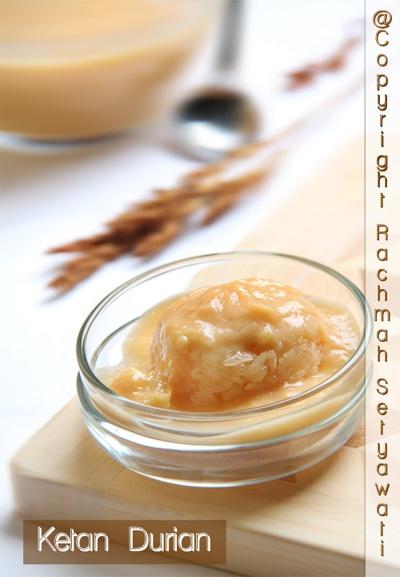 Ketan Durian One of favorite dessert in Indonesia.