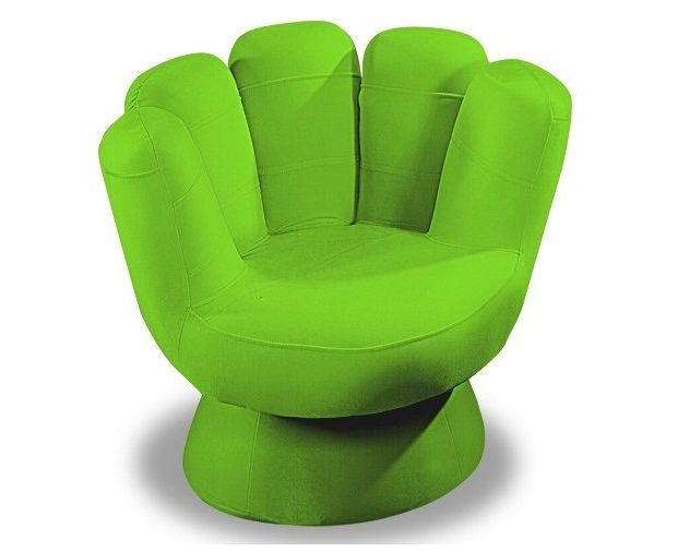 Green Color Teen Chair Design Id526 - Stylish Chairs Design - Furniture Designs - Product Design
