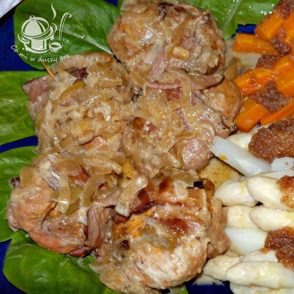 Co Mi W Duszy Gra Medaliony Indycze Pieczone W Rekawie Food Chicken Meat
