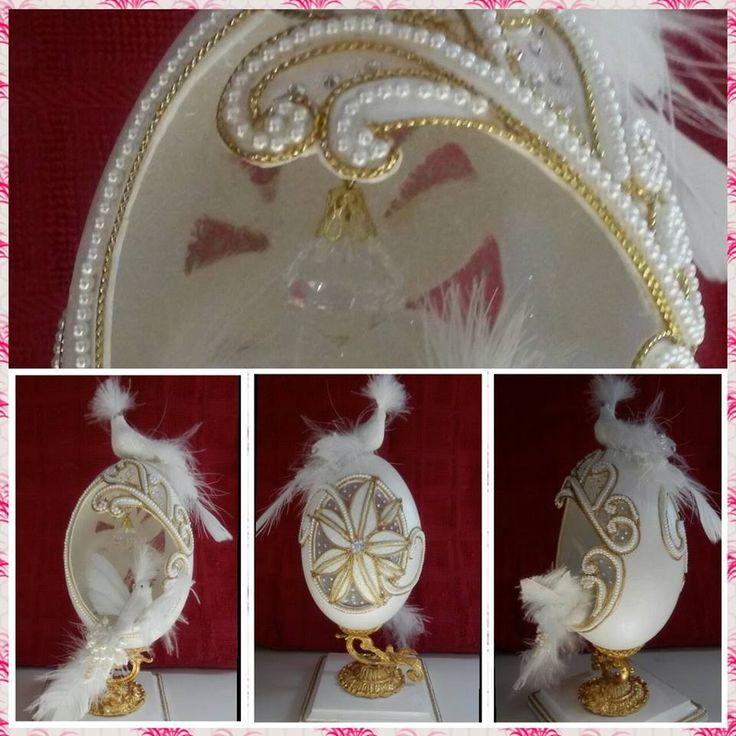 My eggs - Rhea bird egg