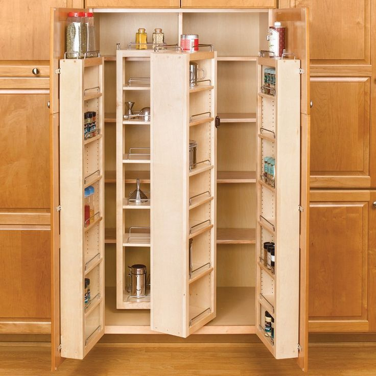 17 best ideas about tall pantry cabinet on pinterest - Space saving kitchen ideas ...
