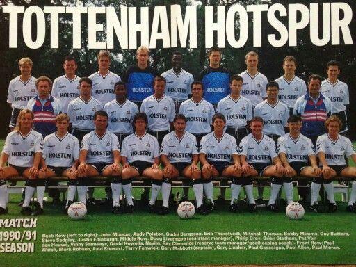 Match magazine pull out 90/91 season