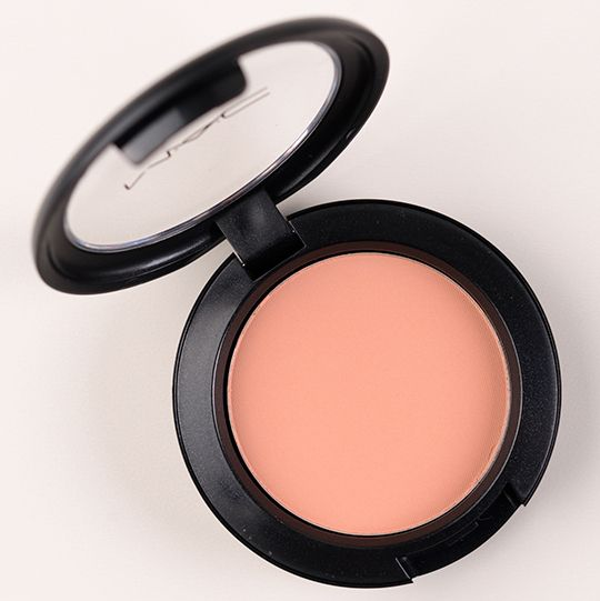 MAC Blush in Stay By Me (Pro Longwear Blush) - Light Peach Coral  Blush Shade