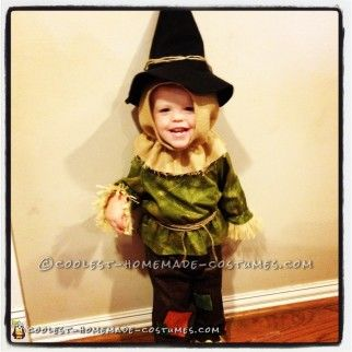 Cute Toddler Scarecrow Costume