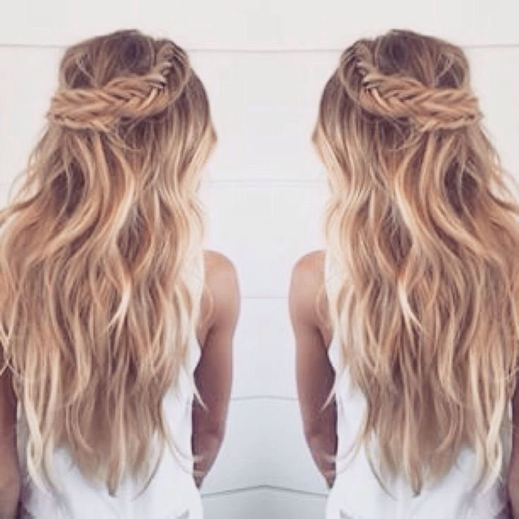 fishtail braid! awesome for those who love their hair out of their face
