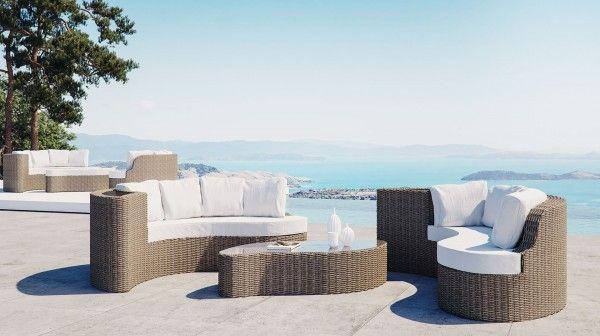 Yamelia Terrasse Dekorieren Gartenmobel Sets Lounge Mobel