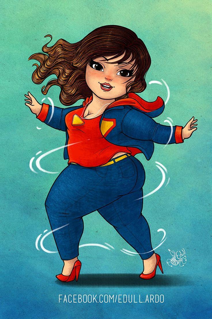 Edull - Coleção Power - ilustração plus size - grandes mulheres 7